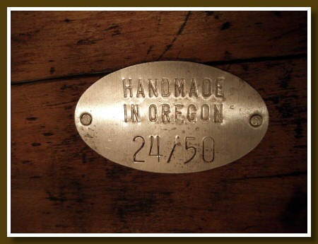 Handmade in Oregon 24/50