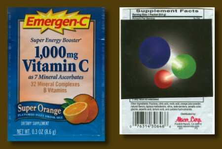Emergen-C with Sticker